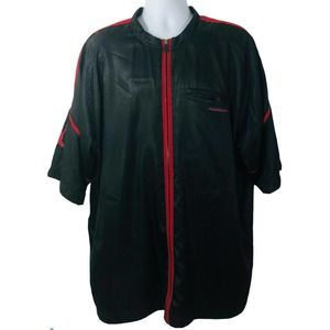Nike Jordan Shirt XL Black Warm Up Track Jacket